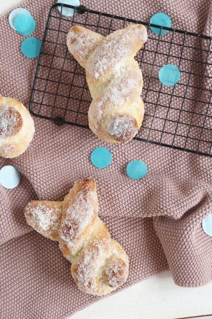 Rezept: Osterhasen aus Quark-Öl-Teig - Lavendelblog