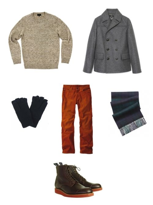 Peacoat outfit