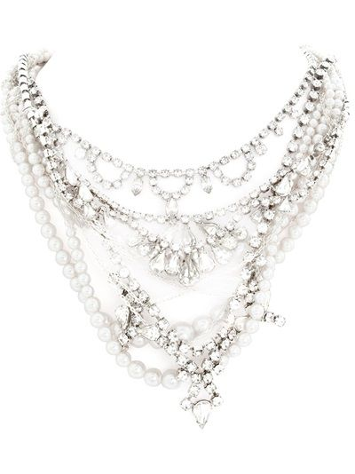 TOM BINNS 'Pearls In Peril' Necklace