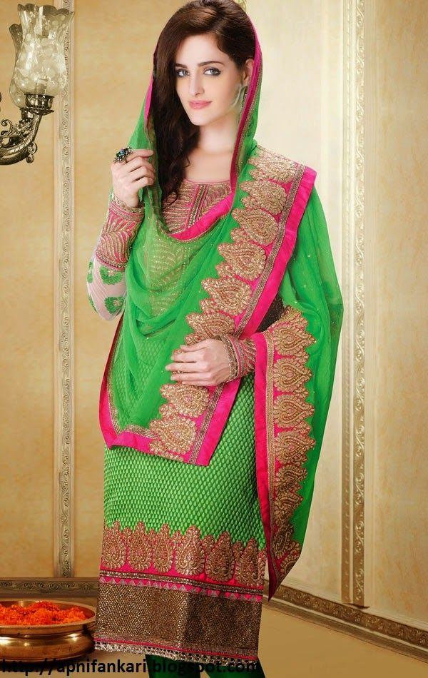 Latest Salwar Kameez Suits Designs 2015 For Girls (5) | Salwar