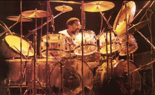 Billy Cobham And His 1970s Era Fibes Clear Crystalite Monster Kit