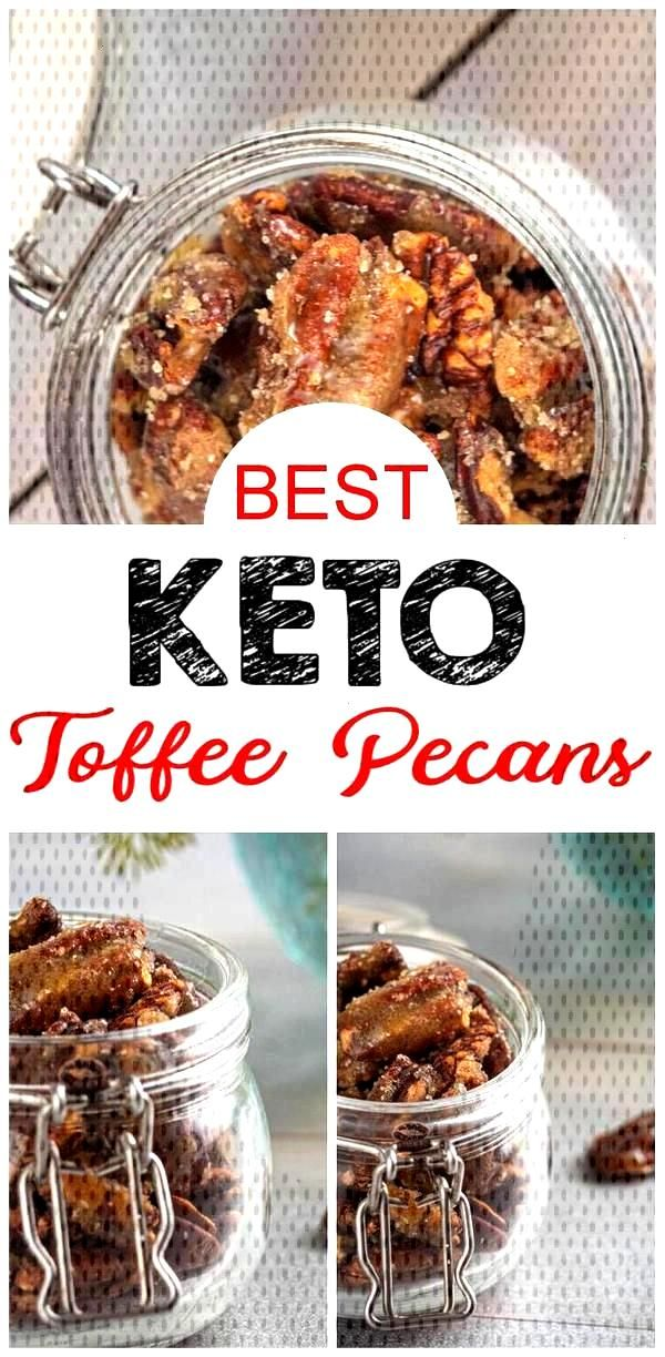 BEST Keto Pecans! Low Carb Keto Toffee Coated Pecans Idea – Sugar Free – Quick & Easy Ketogenic
