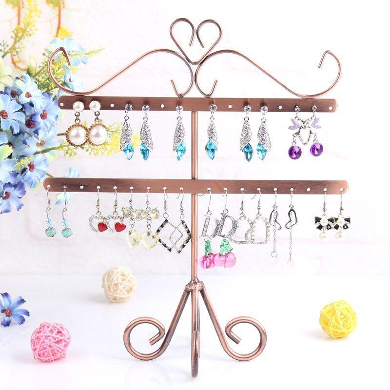 25f0a7a17 Kovový stojan na šperky | inspirace | Jewelry packaging, Jewellery ...