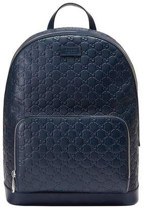 fae3073bf492 Gucci Signature leather backpack | Bags for Men | Leather Backpack ...