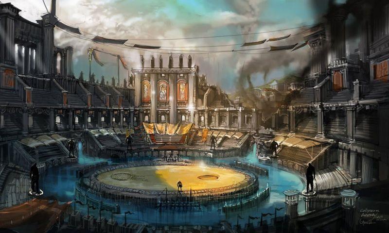 Colosseum Concept Art Google Search Fantasy Concept Art