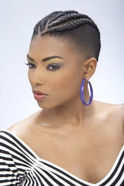 75 Most Inspiring Natural Hairstyles For Short Hair Braids For