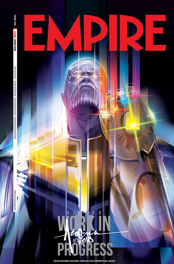 Avengers Infinity War Magazine Cover Design For Empire Cover Design Magazine Cover Design Infinity War