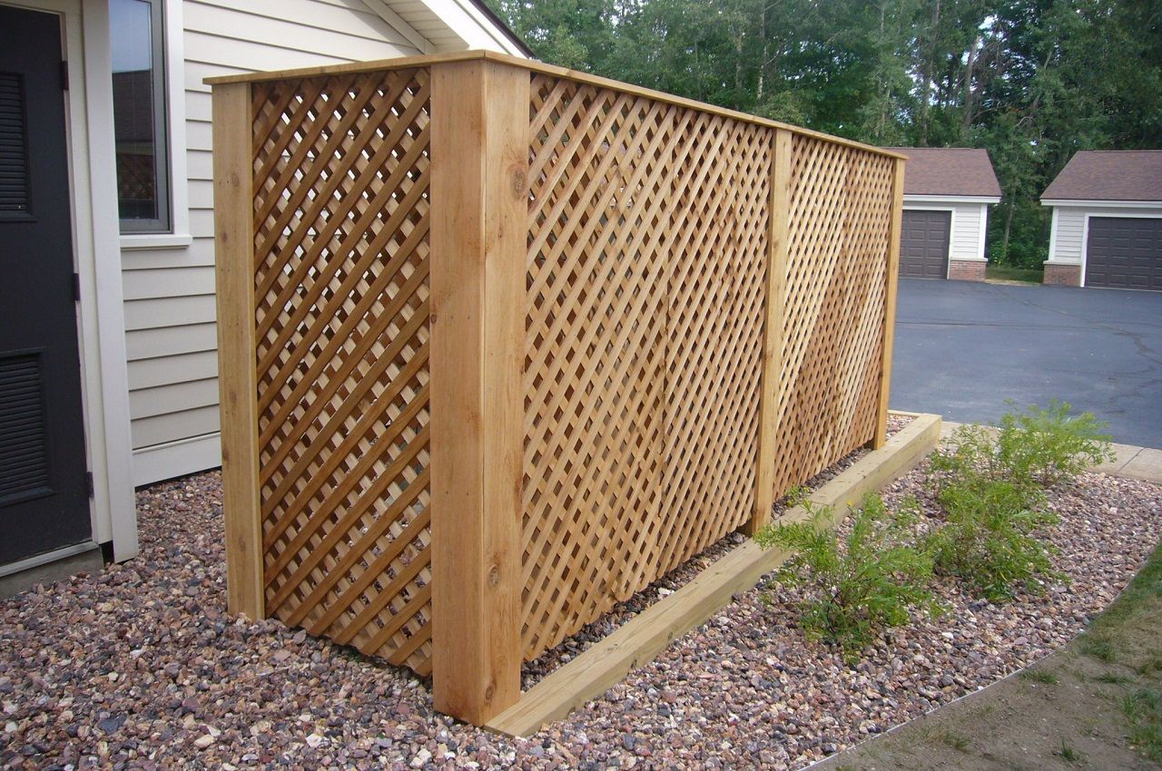 cedar lattice michigan - Google Search | patio/veggie garden ...