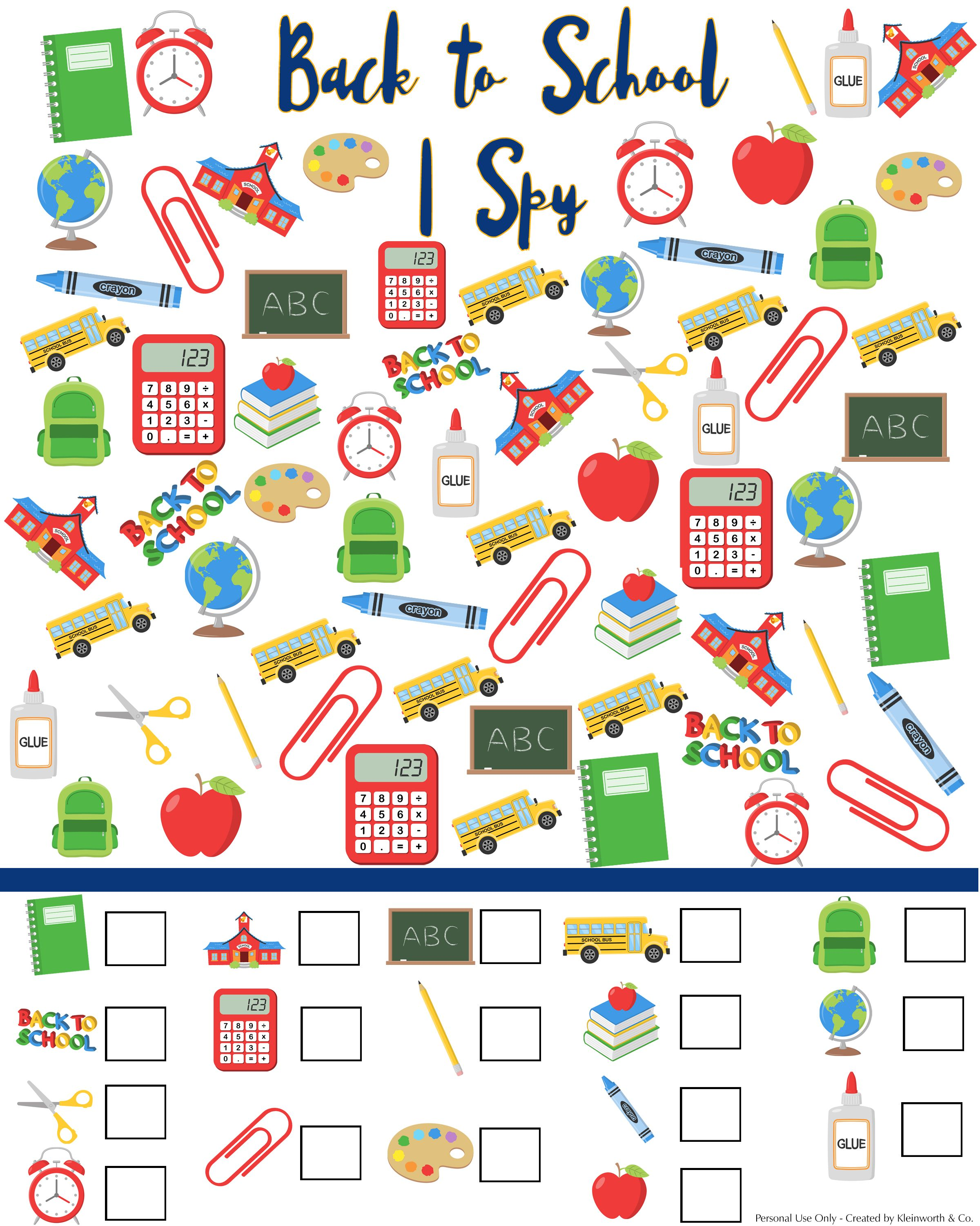 Back To School I Spy Printable 2 400 3 000 Pixels