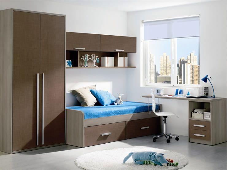 Dormitorio juvenil moderno según foto | 11 JUV MOD 20 | Kids rooms ...