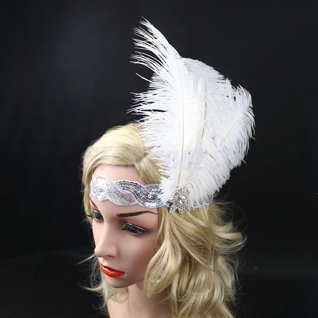1920/'s Flapper Great  Headpiece Vintage Headband Dance Party Headwear