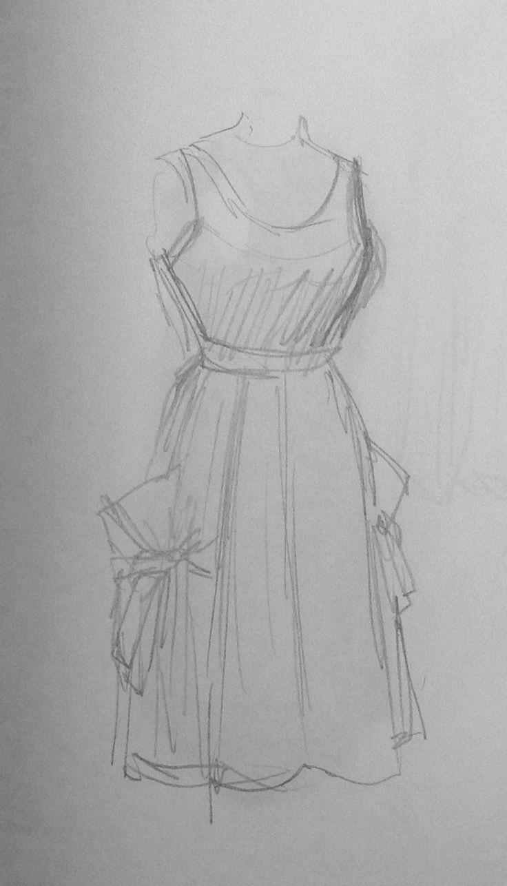 Robe, Hermès, années 50