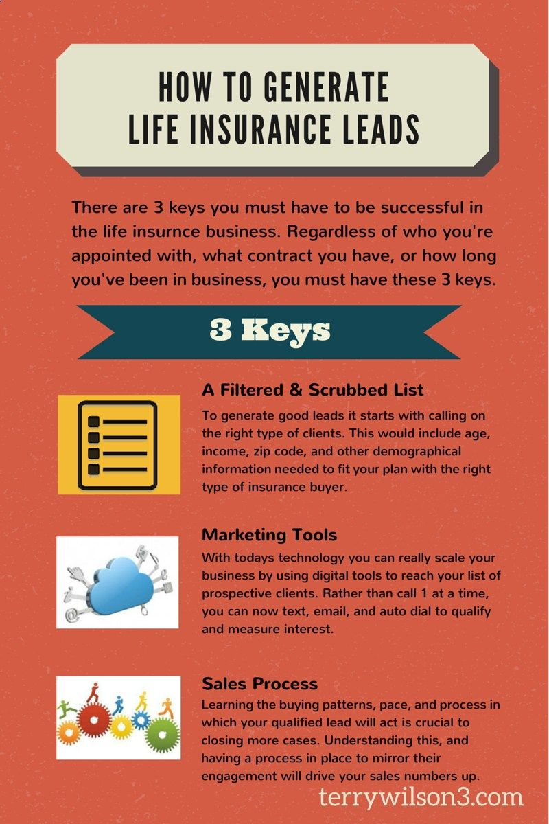3 ways to generate life insurance leads life insurance