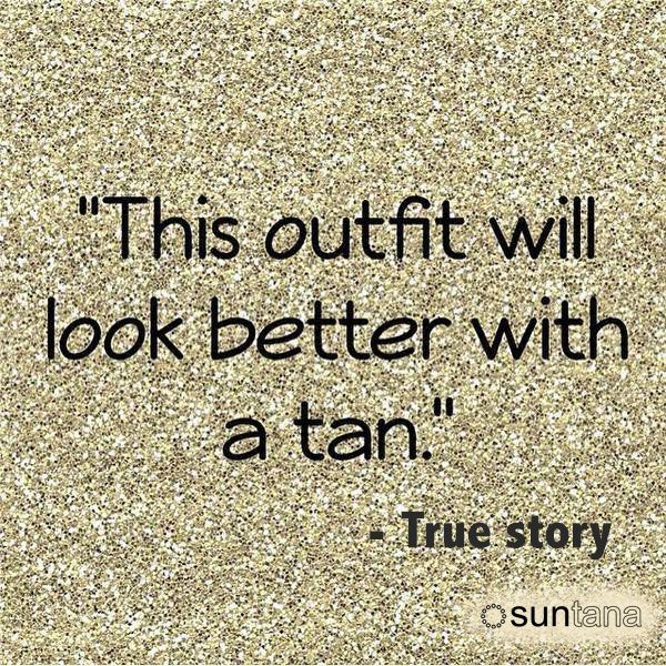 FactFriday It is a well known fact sunless tanning