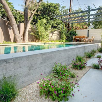 Above Ground Pool Landscaping Pools Austin Tx Design Pictures Remodel Decor And