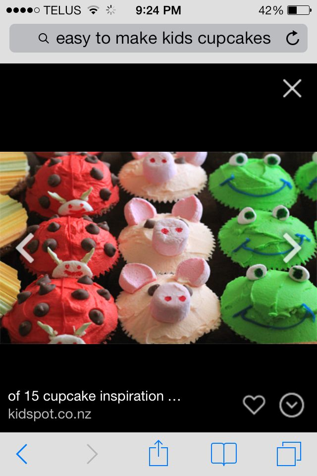 1000+ ideas about Easy Animal Cupcakes on Pinterest ...