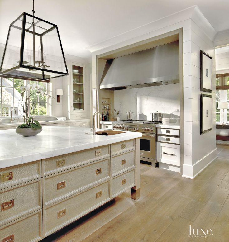 O'Brien Harris fabricated this kitchen's custom white ...