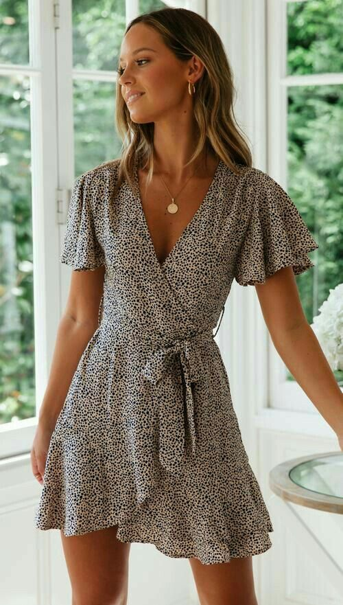 Hippie Style Mini Dress