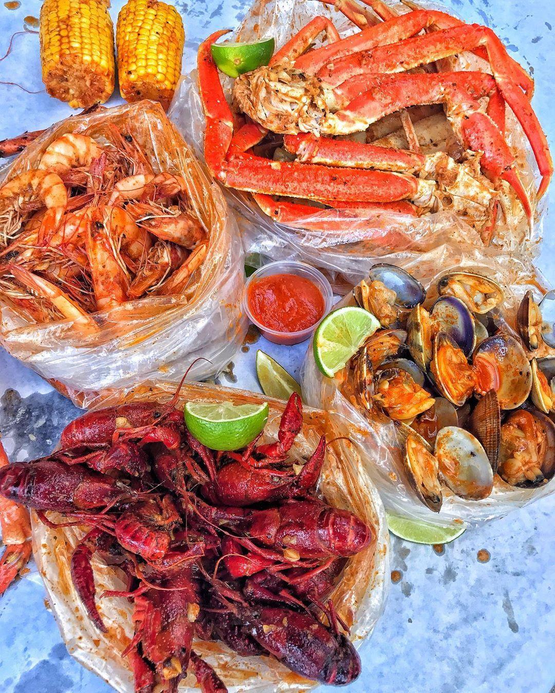 The Kickin Crab On Instagram The Kickin Crab Now This Is A Meal Crawfish Shrimp Crab Ki Seafood Recipes Food Cajun Recipes Easy