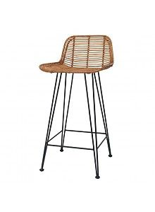 Excellent Hk Living Tabouret De Bar En Rotin Naturel Hk Living Gmtry Best Dining Table And Chair Ideas Images Gmtryco
