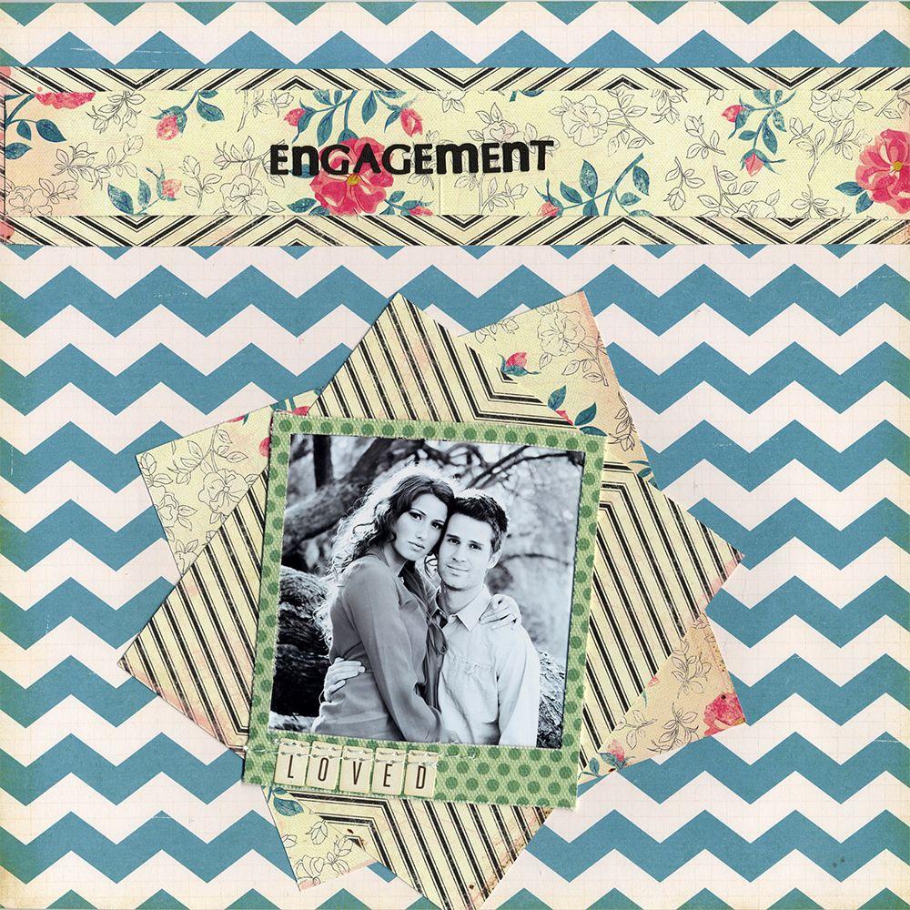 Scrapbook ideas engagement - Engagement Scrapbook Com