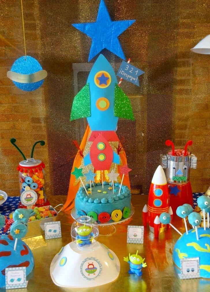 fiesta infantil de cumpleaos paseo espacial de uccelebra con anaud