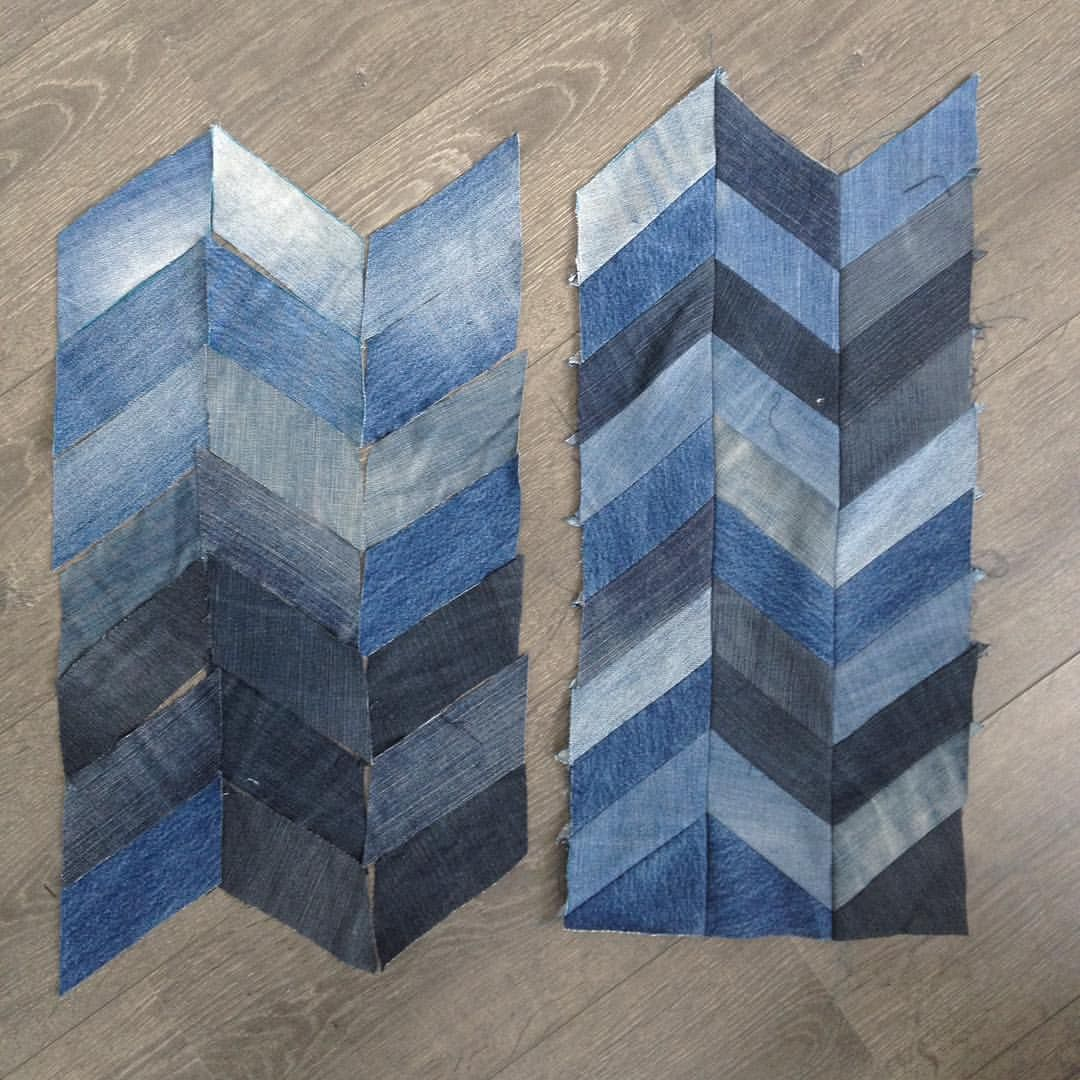 more denim quilt by laces upcycled art leftovers with no vintage
