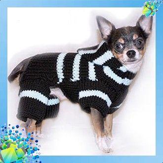 вязанный комбинезон для собаки схема вязания 5 для животных Dog