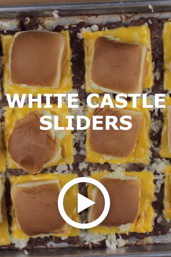 White Castle Sliders you can make at home! If you've always wanted to replicate these popular burgers, this recipe is the real deal. #whitecastlesliders #whitecastle #sliders #miniburgers #easysliders #appetizer #easyappetizer #FavoriteFamilyRecipes #favfamilyrecipes