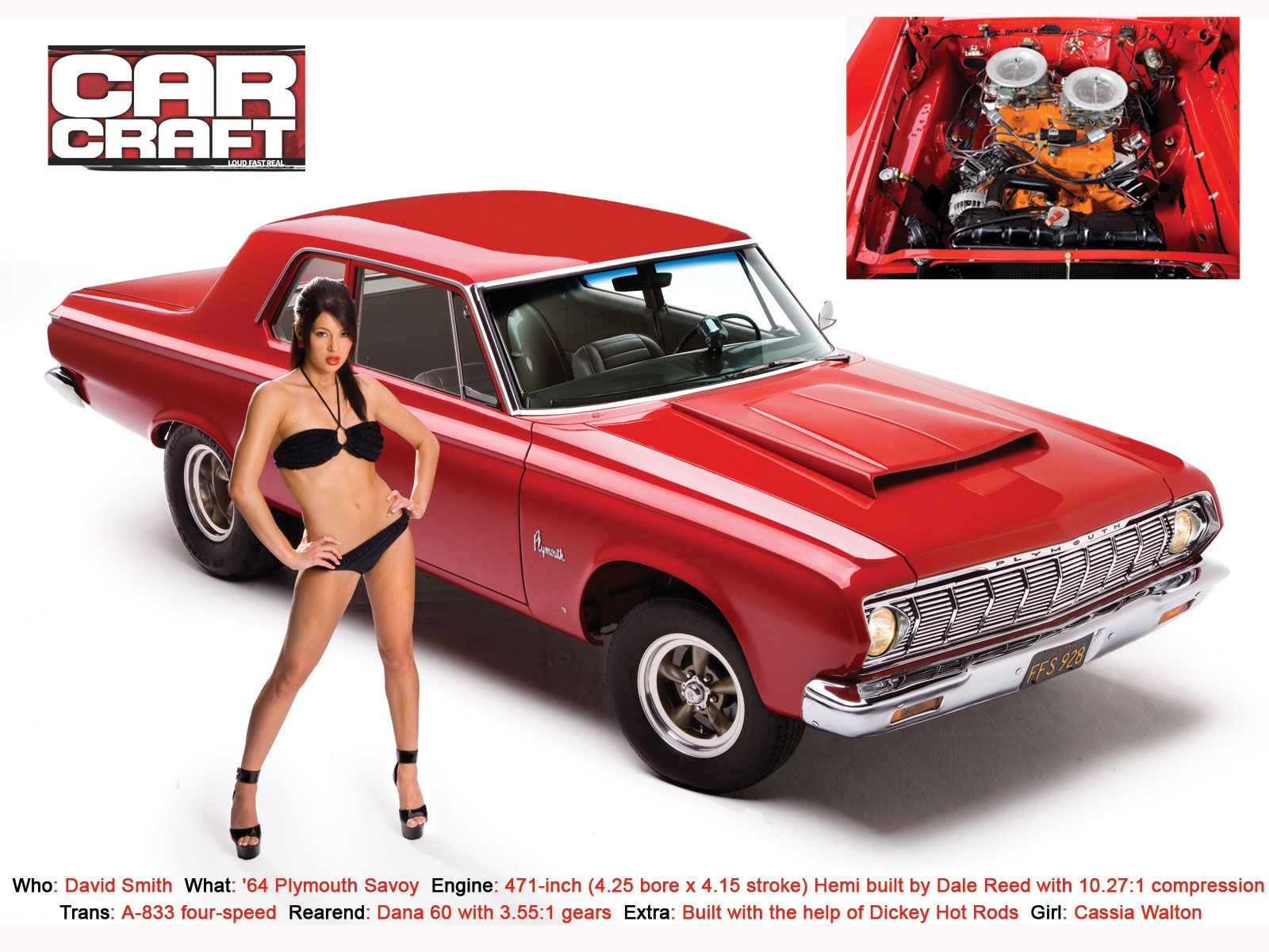 Car craft bikini contest