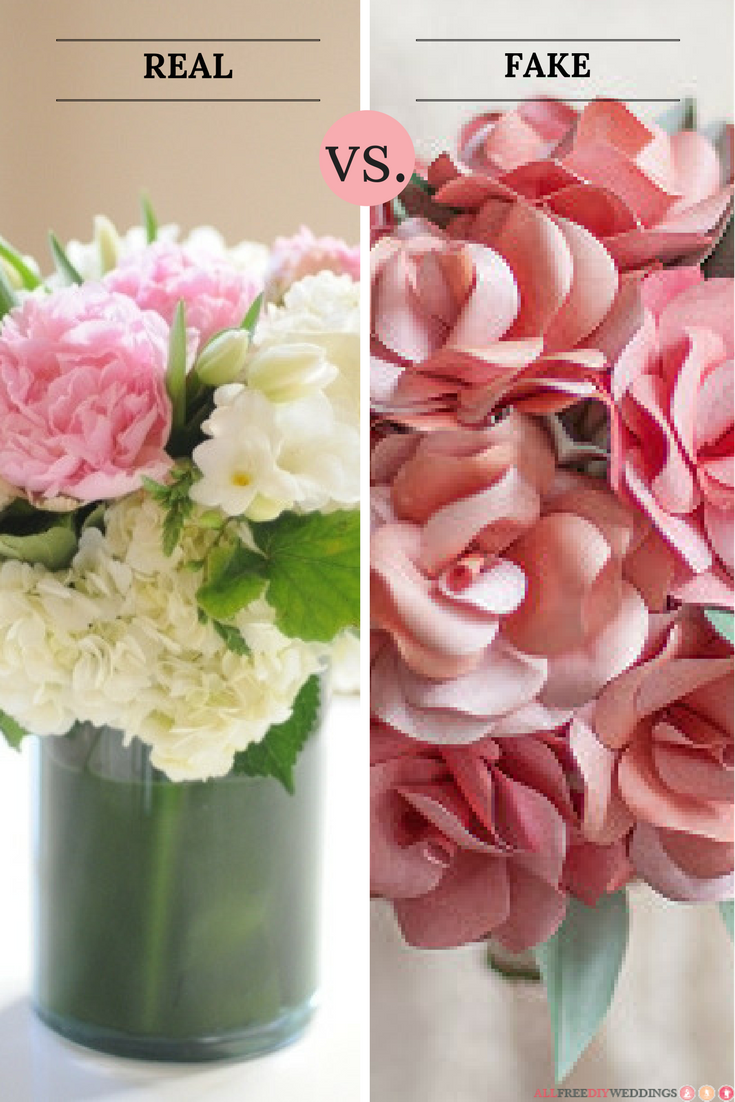 Do You Prefer Real Or Fake Flowers For Weddings Cast Your Vote And Creative Wedding Centerpieces Beautiful Wedding Centerpiece Simple Wedding Centerpieces Diy