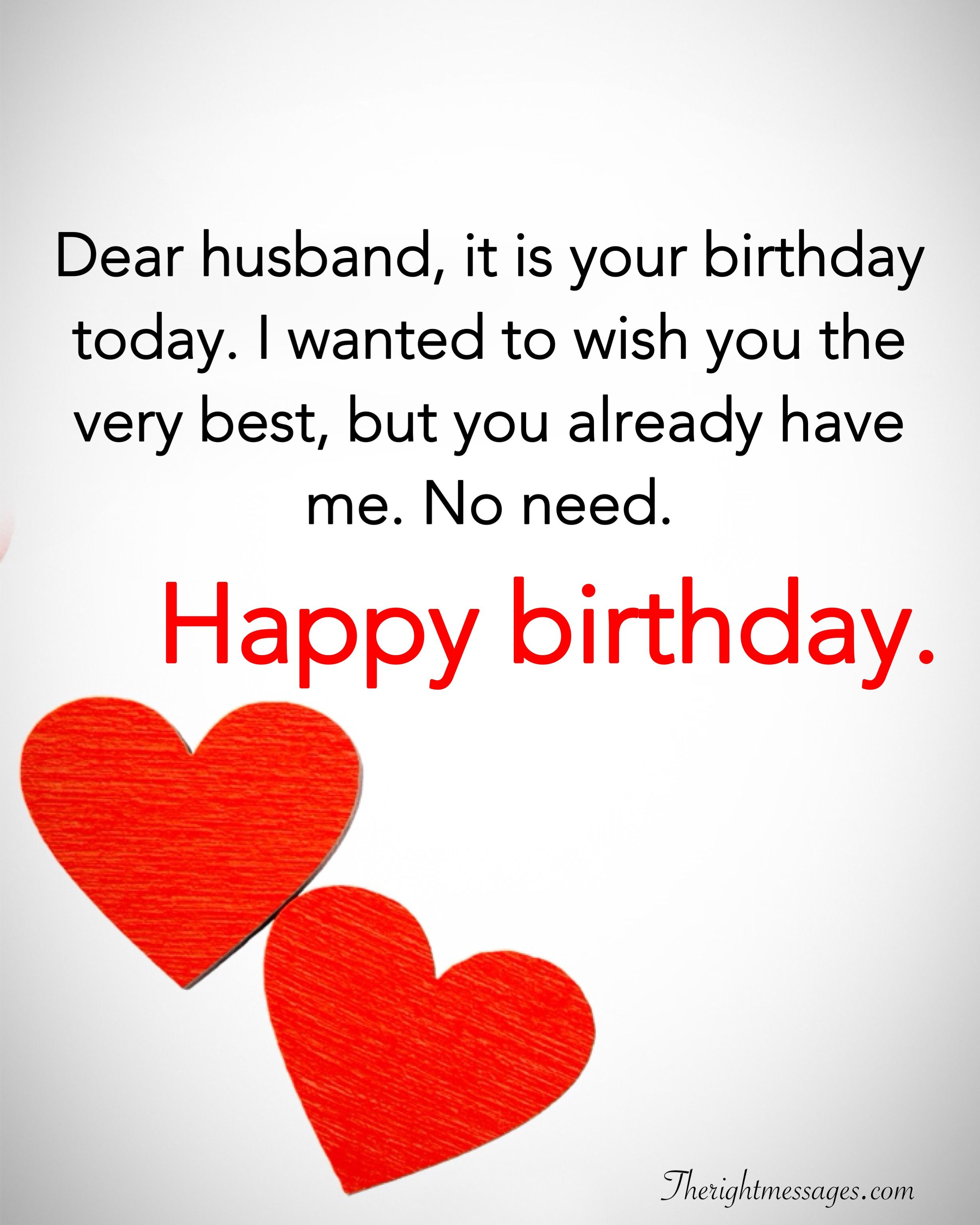 28 Birthday Wishes For Your Husband - Romantic, Funny & Poems ...