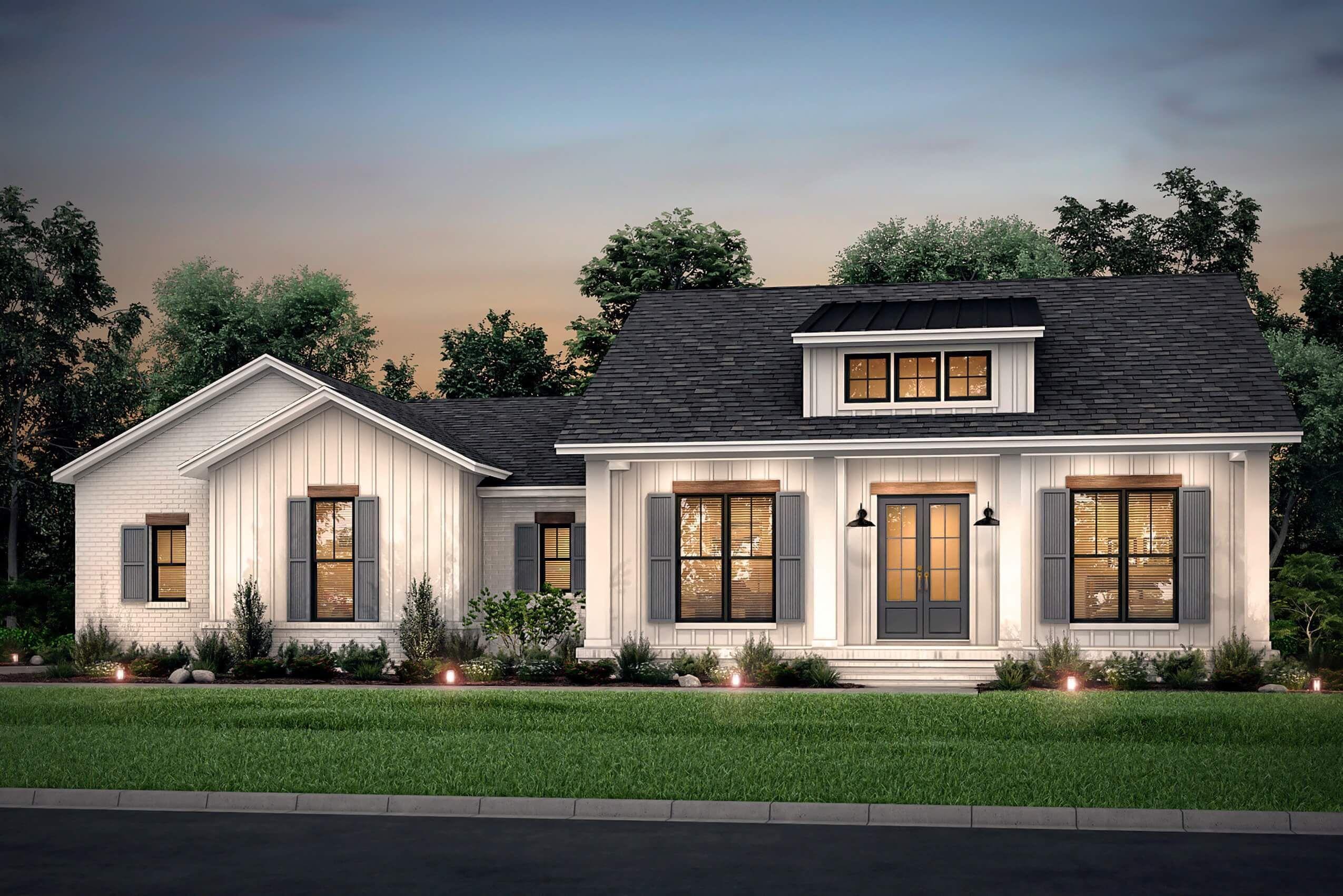 Blackberry Ridge House Plan House Plan Zone In 2020 Farmhouse Style House Modern Farmhouse Plans Craftsman House Plans