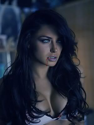 Her massive cleavage is distracting me from getting to know her