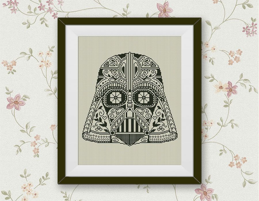 BOGO FREE Darth Vader Cross Stitch Pattern Star Wars by StitchLine