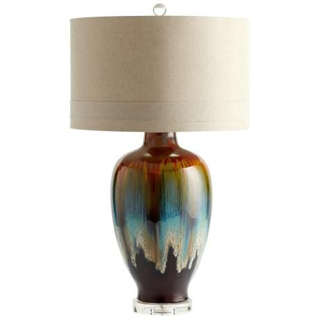 Hayes bronze and rust ceramic table lamp i love this lamp i am going