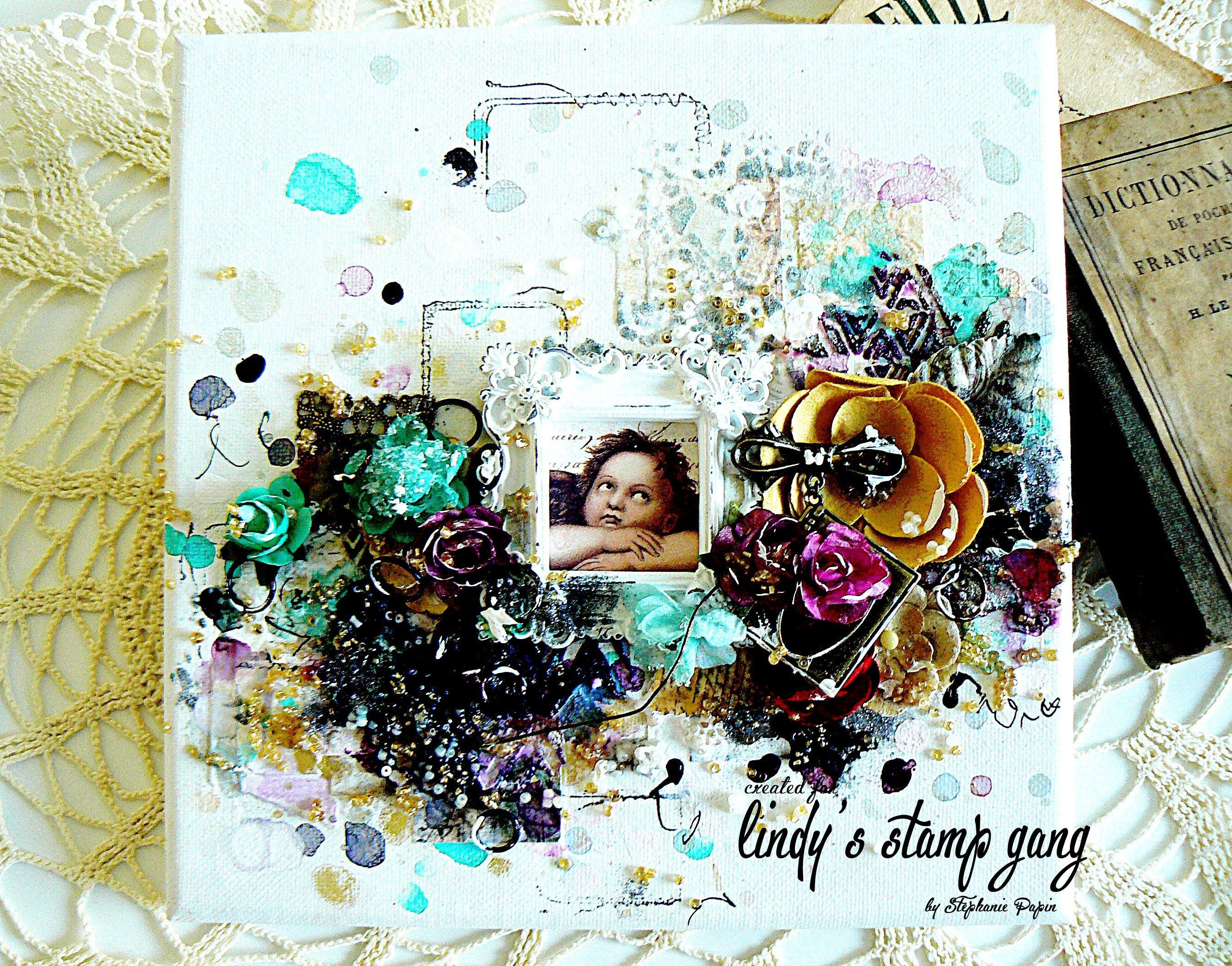 3d mixed media canvas tutorial my angel by stphanie papin 3d mixed media canvas tutorial my angel by stphanie papin baditri Image collections