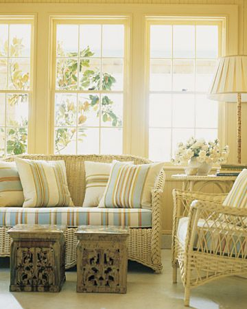Blue Rooms Cottage Farmhouse Primitive Style Sunroom