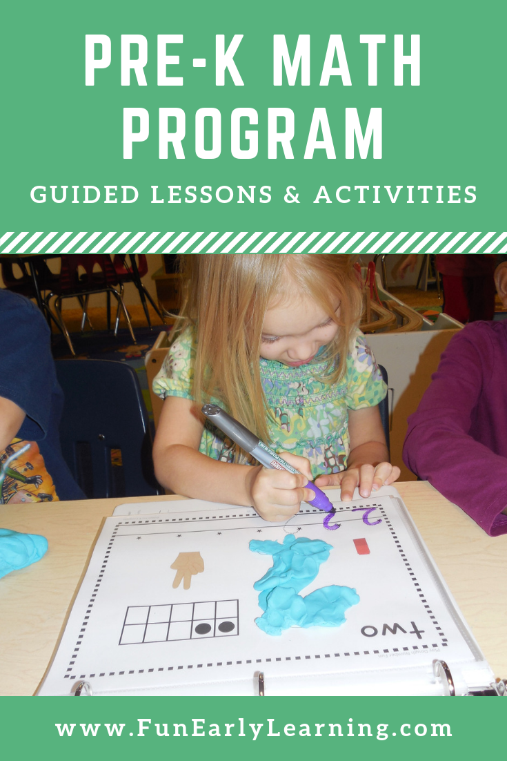 Complete Math Program Math Curriculum For Preschool Pre K