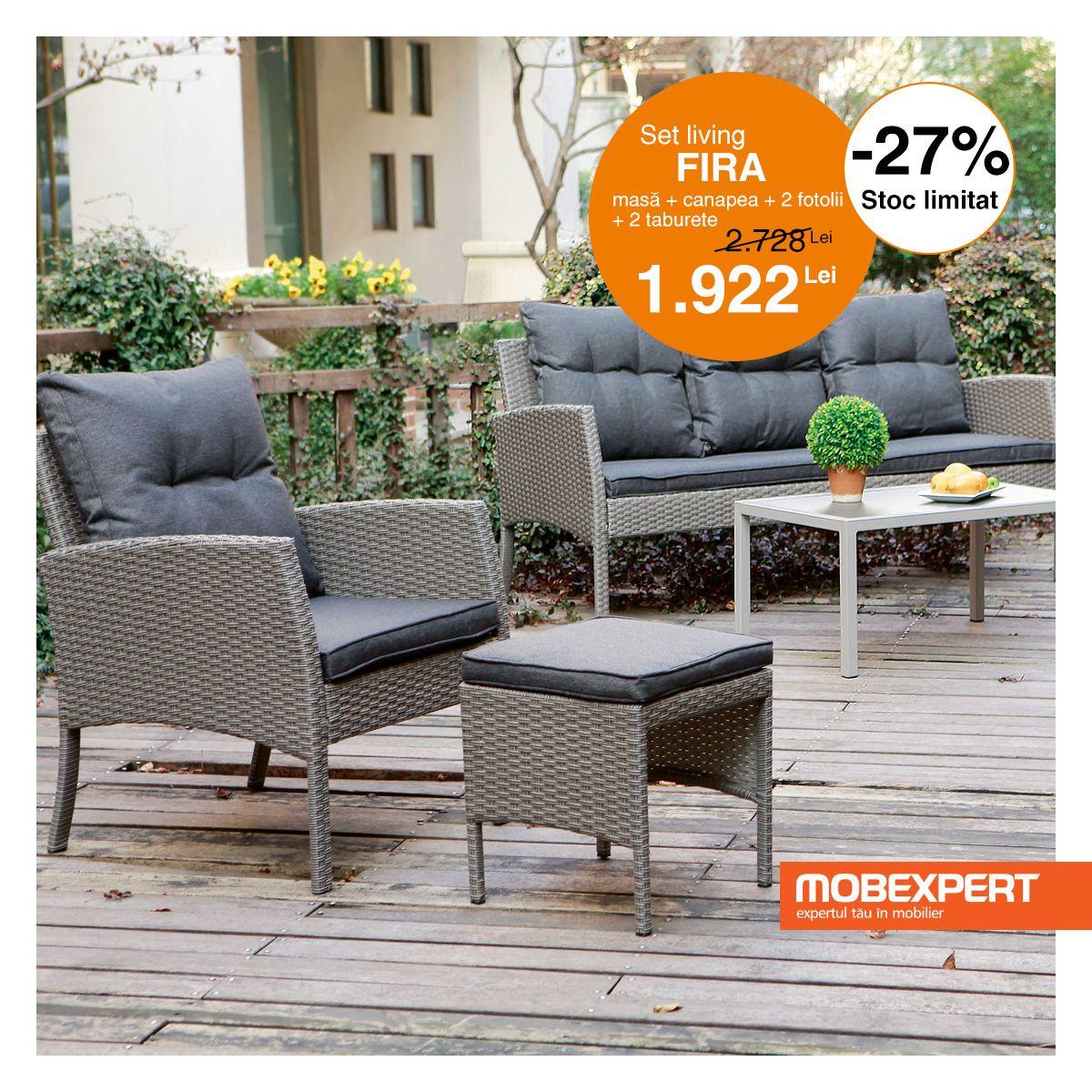 In Materie De Design Gama Fira Este Expresia Confortului Si A Bunului Gust Piesele De Mobilier Combin Outdoor Furniture Sets Outdoor Furniture Furniture Sets