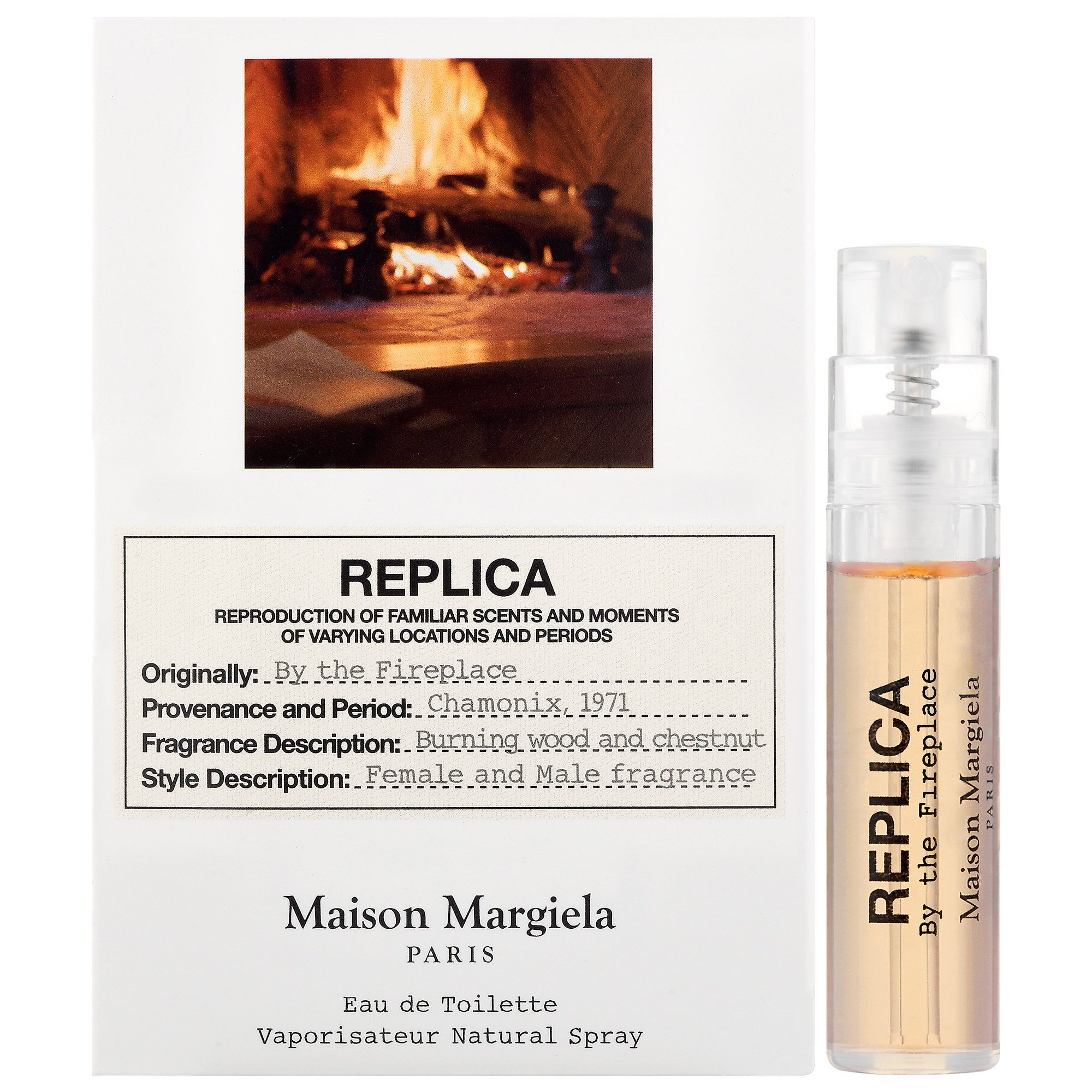 Maison Margiela Replica By The Fireplace Edt Sample Perfume