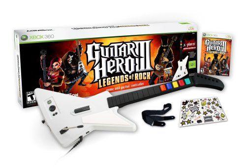 Guitar Hero Iii Legends Of Rock Wired Bundle Xbox 360 Click