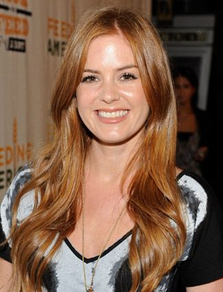Isla Fisher... Love red hair really want it, maybe this shade?!