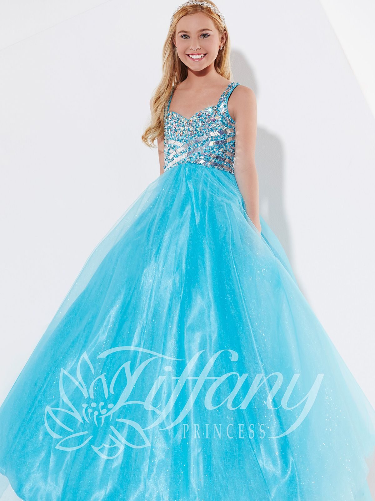 dbb980775bc8 Perfect Tiffany Princess pageant dress for national and state beauty ...