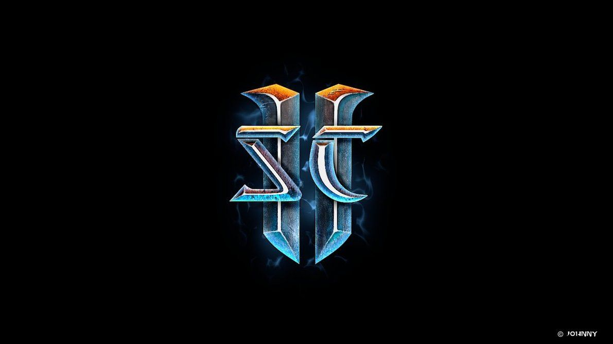 Starcraft 2 Logo By Skywalger On Deviantart Starcraft Emblem Logo Logo Design