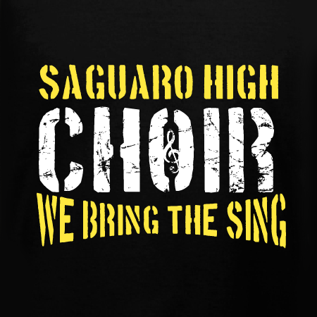 Choir T Shirt Design