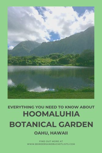 The Jaw-Dropping Hoomaluhia Botanical Garden #botanicgarden