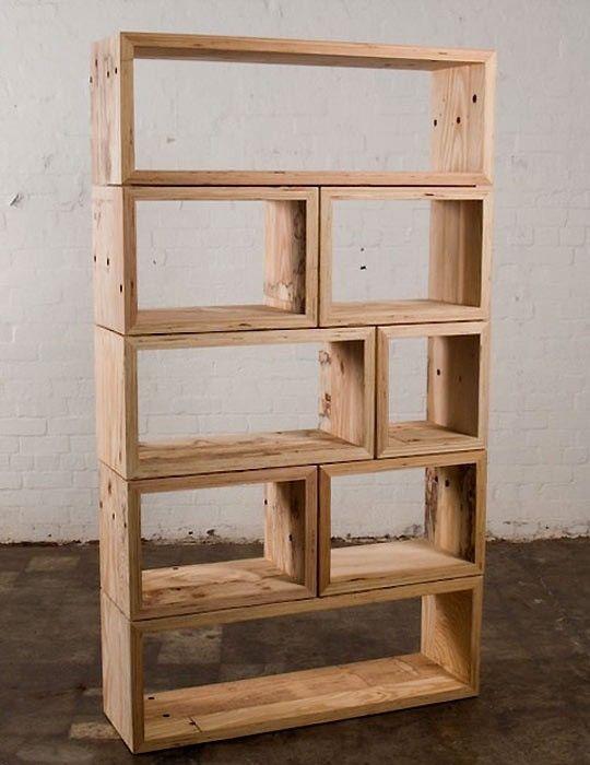 wine crate upcycle for the dream home bookshelves shelves rh pinterest com