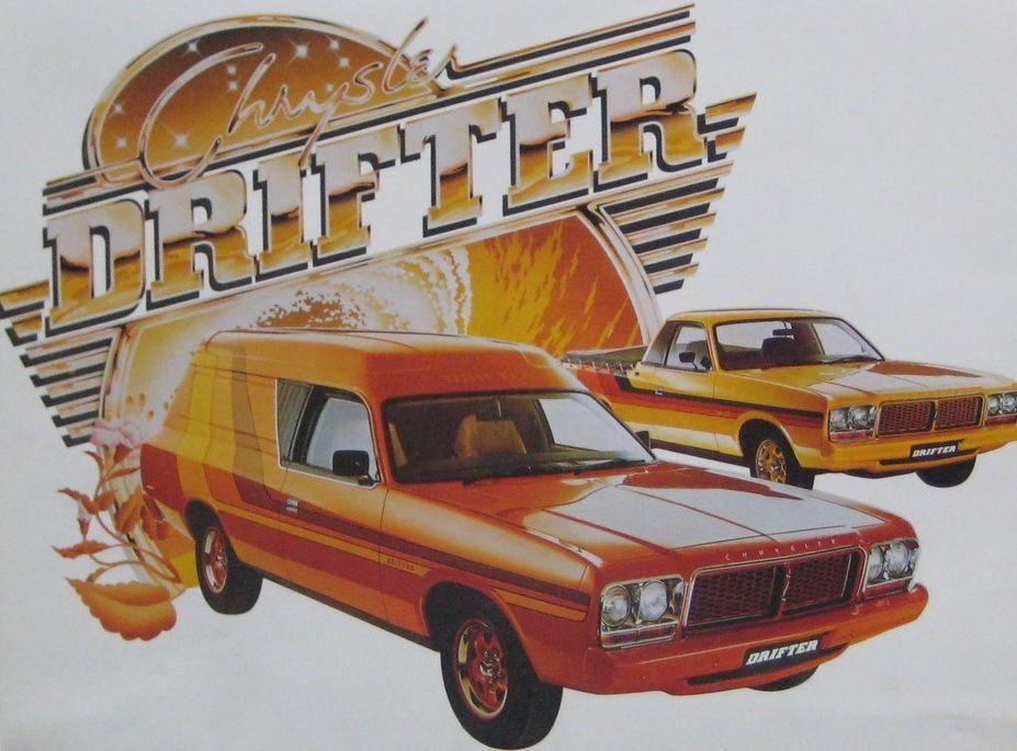 1977 Cl Chrysler Drifter Panel Van And Ute Chrysler Australian Cars Wagon