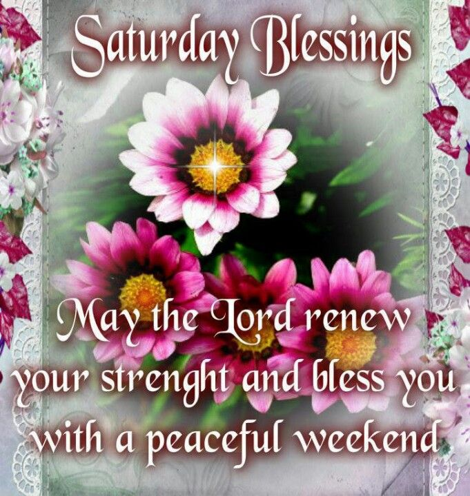 Saturday Blessings: May God's Peace Rest Upon You Debbie